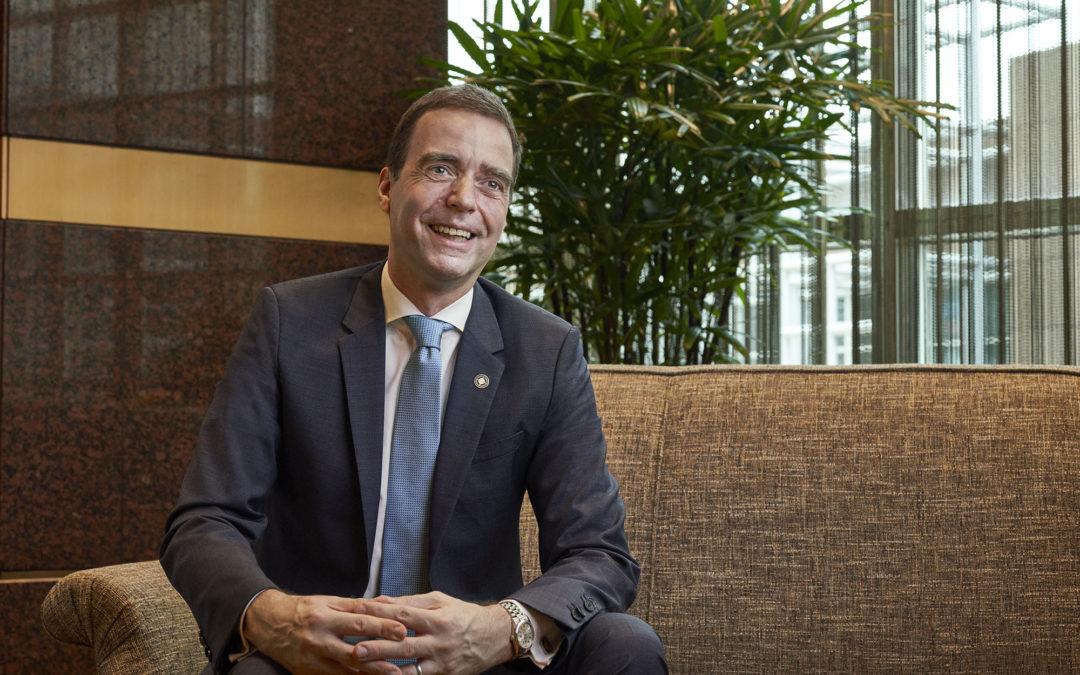 In conversation with Nils-Arne Schroeder